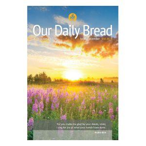 Our Daily Bread Semi Annual Vol. 26 With Scripture Text (Jul - Dec)