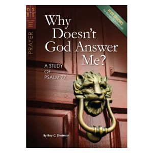 Why Doesn't God Answer Me?