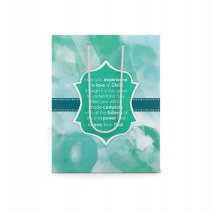 Our Daily Bread Scripture Paper Bag - Ephesians 3:19 (Small)