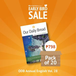 Our Daily Bread Annual Edition Vol. 28 - Pack of 20s