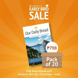 Our Daily Bread Semi Annual Vol. 28 (Jan-June) - Pack of 20s