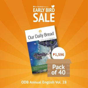 Our Daily Bread Annual Edition Vol. 28 - Pack of 40s