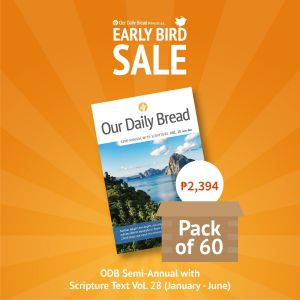 Our Daily Bread Semi Annual Vol. 28 (Jan-June) - Pack of 60s